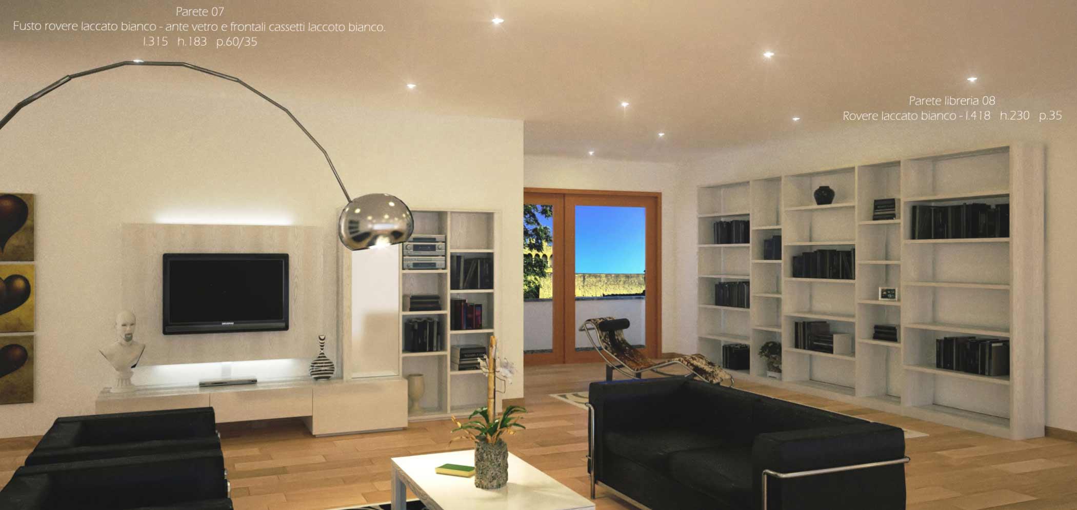 Credenze moderne per soggiorni for Arredamento soggiorno design